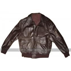 Ellen Ripley Aliens Wested Bomber Leather Jacket