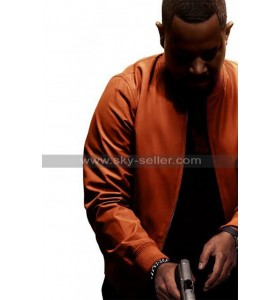 Marcus Bad Boys for Life Martin Lawrence Orange Bomber Jacket