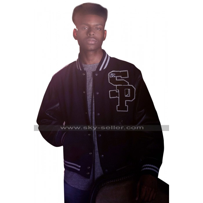 Cloak And Dagger Tyrone Johnson (Aubrey Joseph) Varsity Bomber Jacket