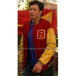 Crows Smallville Clark Kent Varsity Letterman Jacket