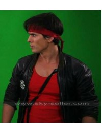 David Sandberg Kung Fury Cop Leather Jacket