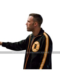 Ben Affleck The Town Doug MacRay Boston Bruins Bomber Black Cotton Jacket