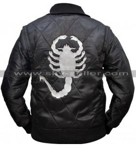 Drive Ryan Gosling Scorpion Satin Bomber Jacket