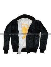 Drive Scorpion Reversible Ryan Gosling Bomber Jacket