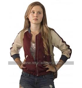 Amma Crellin Sharp Objects Eliza Scanlen Bomber Satin Jacket
