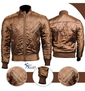 Legends of Tomorrow Firestorm Quilted Bomber Jacket