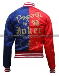 Harley Quinn Property of Joker Bomber Jacket