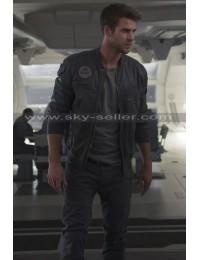Liam Hemsworth Independence Day Resurgence Bomber Jacket