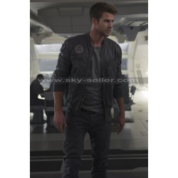 Liam Hemsworth Independence Day Resurgence Bomber Jacket