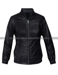 Kalinda Sharma The Good Wife Black Bomber Jacket