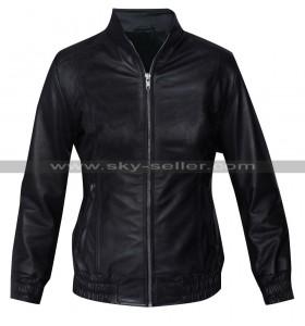 Kalinda Sharma The Good Wife Black Bomber Jacket