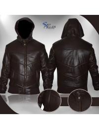 Kim Soo‑hyun Saw the Devil Lee Byung-hun Leather Jacket