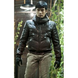 Kim Soo‑hyun Saw the Devil Lee Byung-hun Leather Jacket