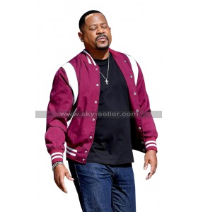 Martin Lawrence Bad Boys for Life Marcus Maroon Bomber Jacket