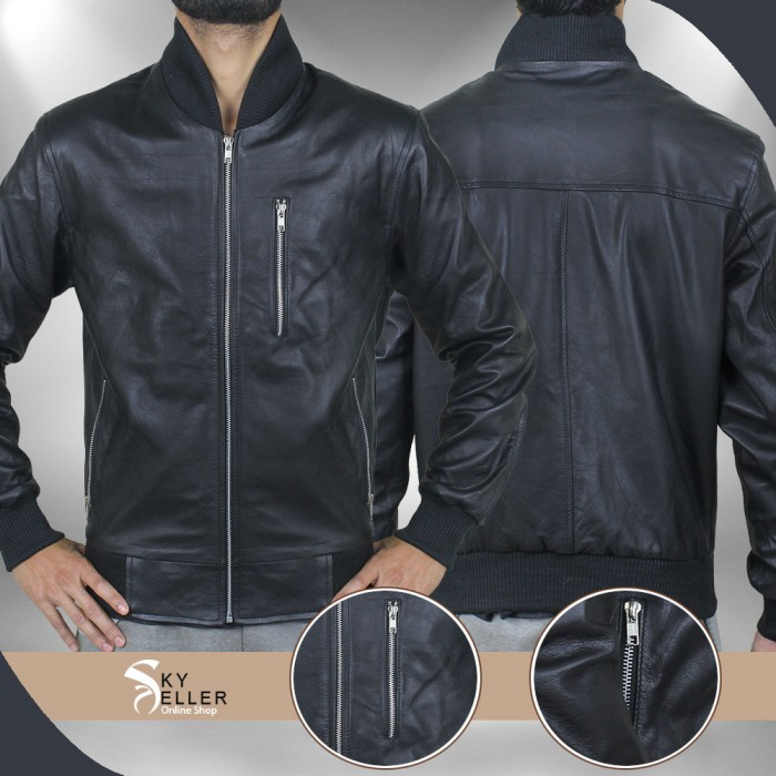 Point Break Edgar Ramirez (Bodhi) Bomber Leather Jacket