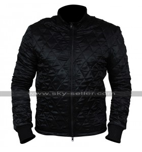 American Assassin Stan Hurley (Michael Keaton) Satin Bomber Jacket