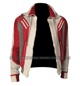 Beast Boy Titans Ryan Potter (Gar Logan) Bomber Costume Wool Jacket