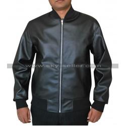 Zac Efron Neighbors Teddy Sanders Black Bomber Jacket