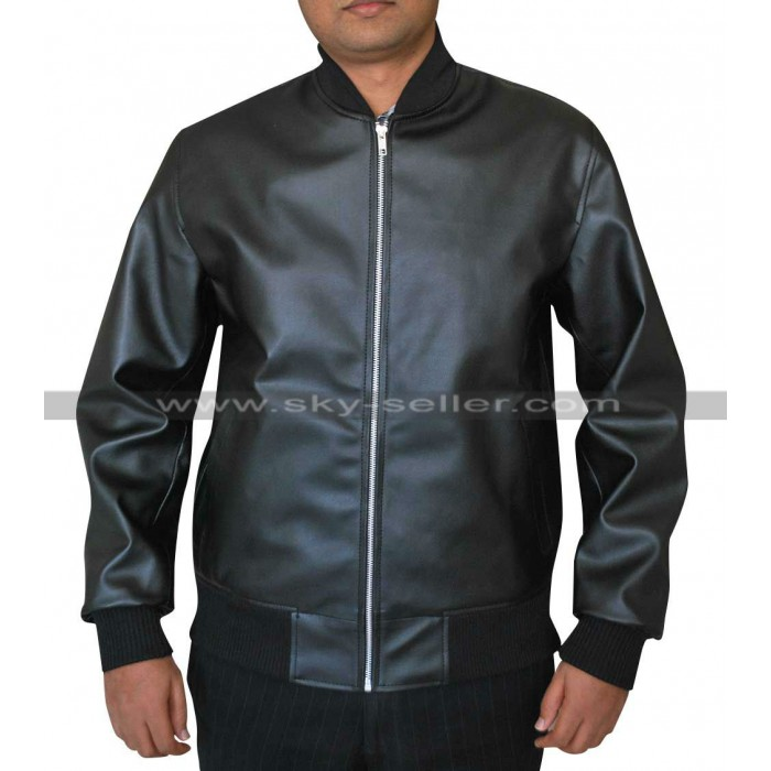 Zac Efron Neighbors Teddy Sanders Black Bomber Jacket