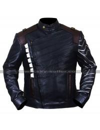 Avengers Infinity War Bucky Barnes (Sebastian Stan) Costume Leather Vest