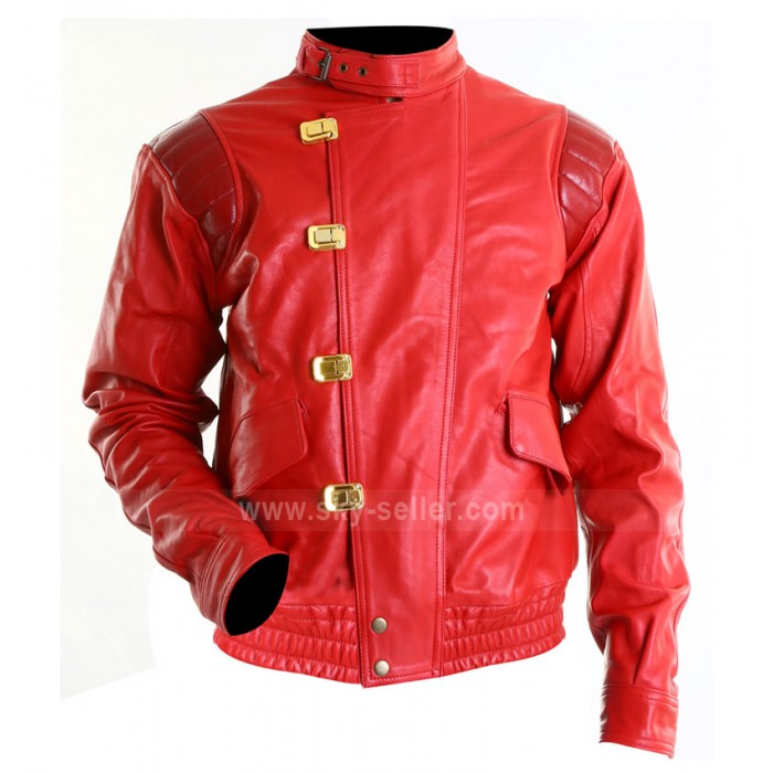 Akira Kaneda Capsule Red Leather Jacket