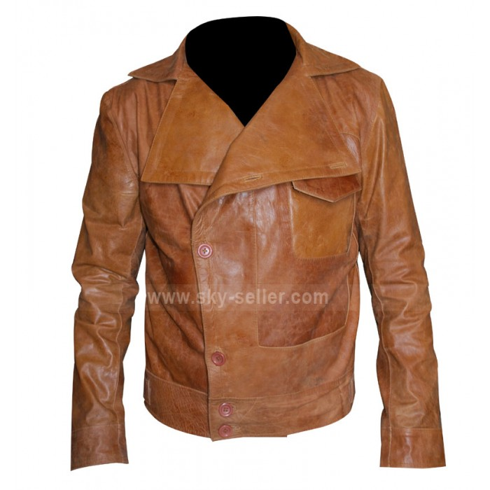 Aviator Leonardo Dicaprio Brown (Howard Hughes) Jacket