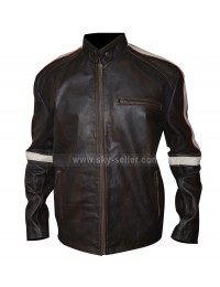 Belstaff Hero Bison Brown Leather Jacket