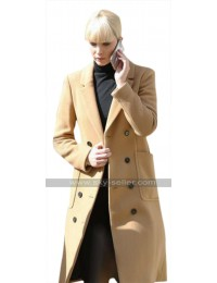 Jennifer Lawrence Red Sparrow Brown Coat