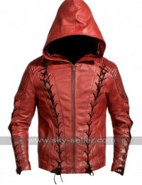 Colton Haynes Arrow Season 3 Roy Harper Jacket Costume