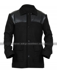 Dan Stevens Legion David Haller Black Coat Fleece Jacket