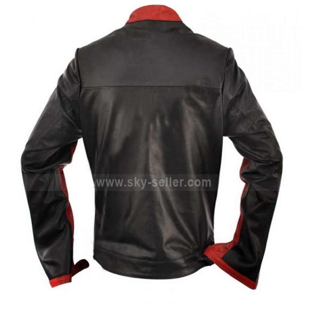The dark knight leather jacket