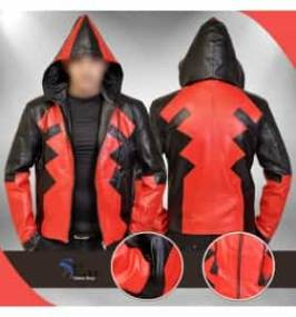 Deadpool Ryan Reynolds Full Zip Cosplay Hooded Costume Jacket