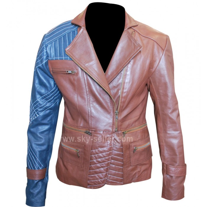 Defiance Julie Benz (Amanda Rosewater) Brown Leather Jacket