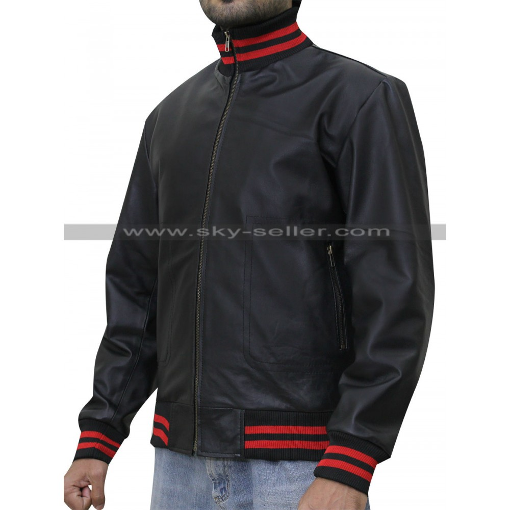 Song Not Afraid Black Bomber Jacket