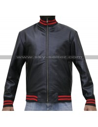 Eminem Song Not Afraid Black Bomber Jacket