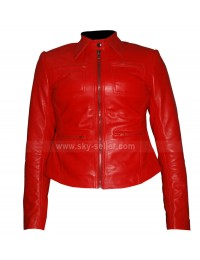 Emma Swan Once Upon a Time Jennifer Morrison Red Leather Jacket