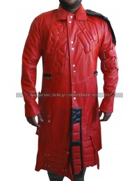 Peter Quill Latest Design Guardians Galaxy Costume Trench Coat