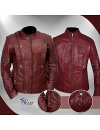 Guardians of the Galaxy Star Lord Peter Quill Jacket for Unisex