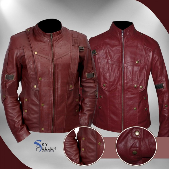 Guardians of the Galaxy Star Lord Avengers Peter Quill Jacket for Unisex