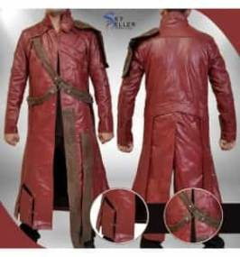Guardians of the Galaxy Starlord (Peter Quill) Trench Coat