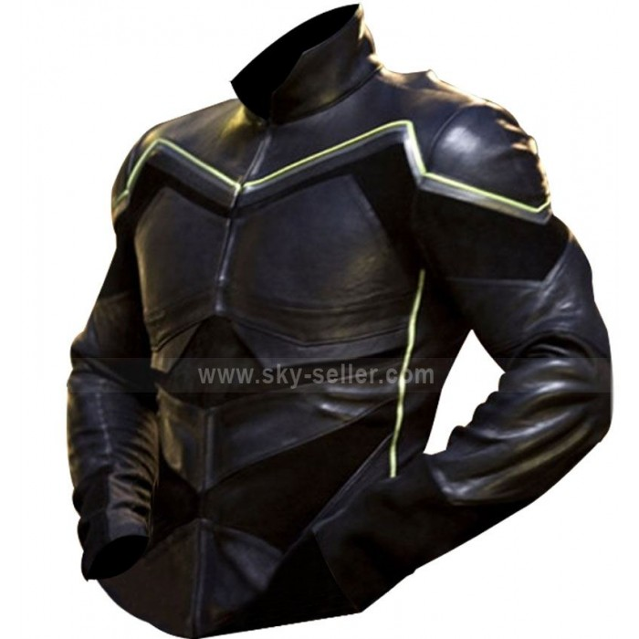 Hancock Will Smith Movie Leather Jacket / Costume