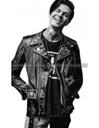 The Neighborhood Jesse Rutherford Bad Luck Black Jacket