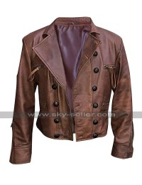 Jason Momoa Justice League Aquaman Arthur Curry Brown Leather Jacket