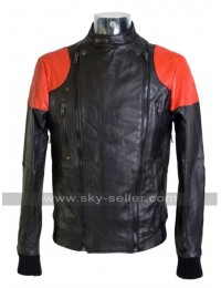 Kid Cudi S2A Conan O'Brien Bomber Leather Jacket
