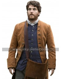Adam Pally Making History Brown Coat