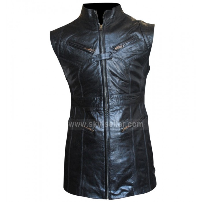 Melinda May Agents of S.H.I.E.L.D Sleeveless Black Vest
