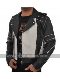 Michael Jackson Pepsi Tour Commercial Leather Jacket