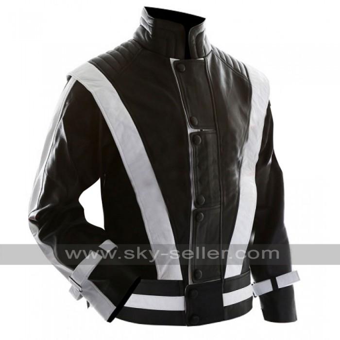 Michael Jackson Black with White Stripes Thriller Jacket