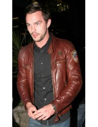 Nicholas Hoult watching Mad Max Fury Road Jacket