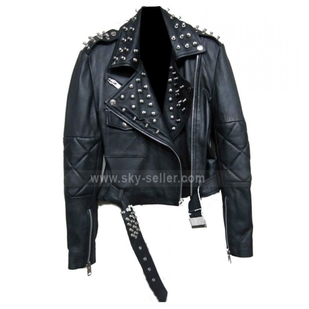 Nicole richie leather jacket
